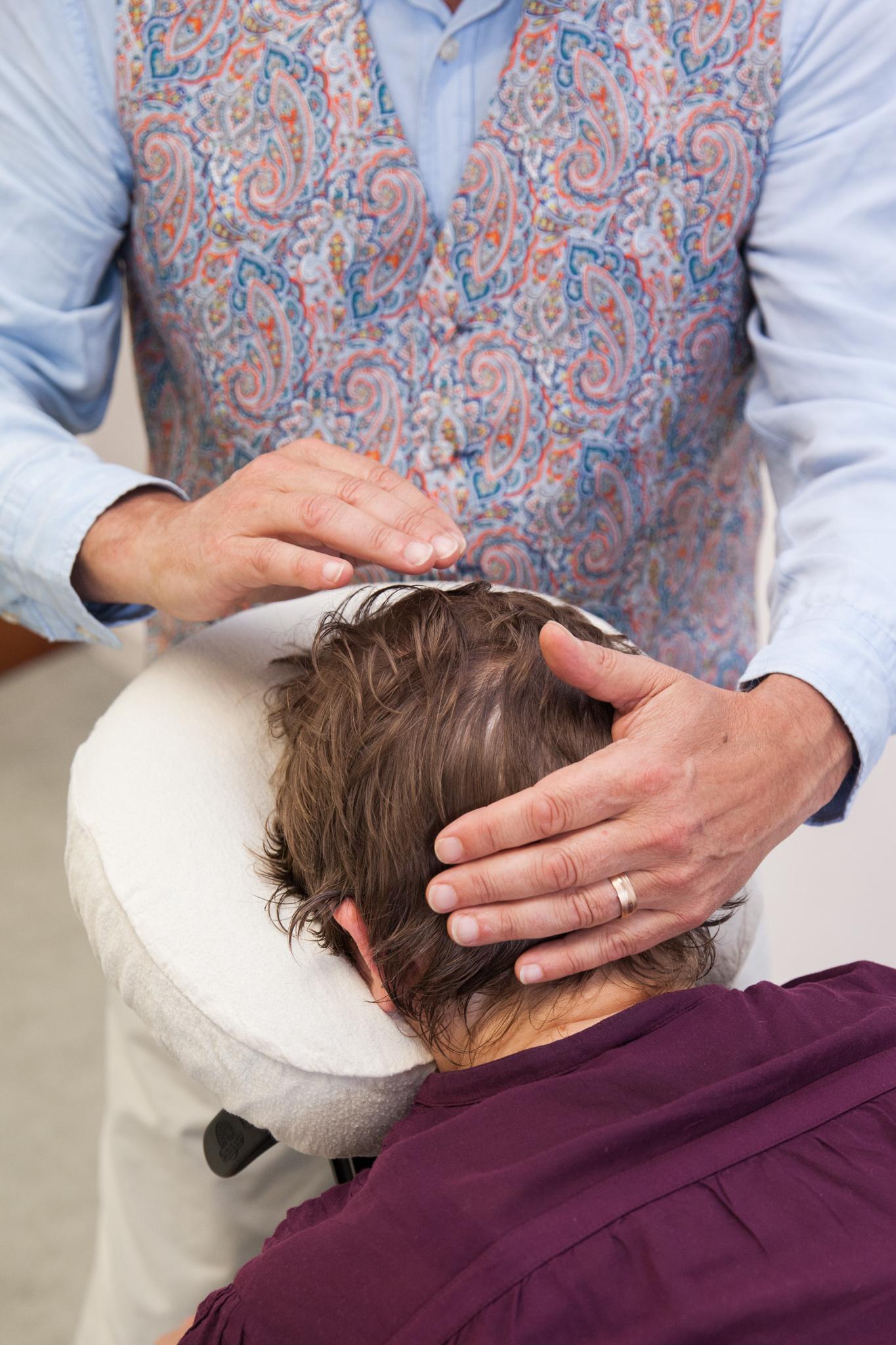 NeuroTouch on the head