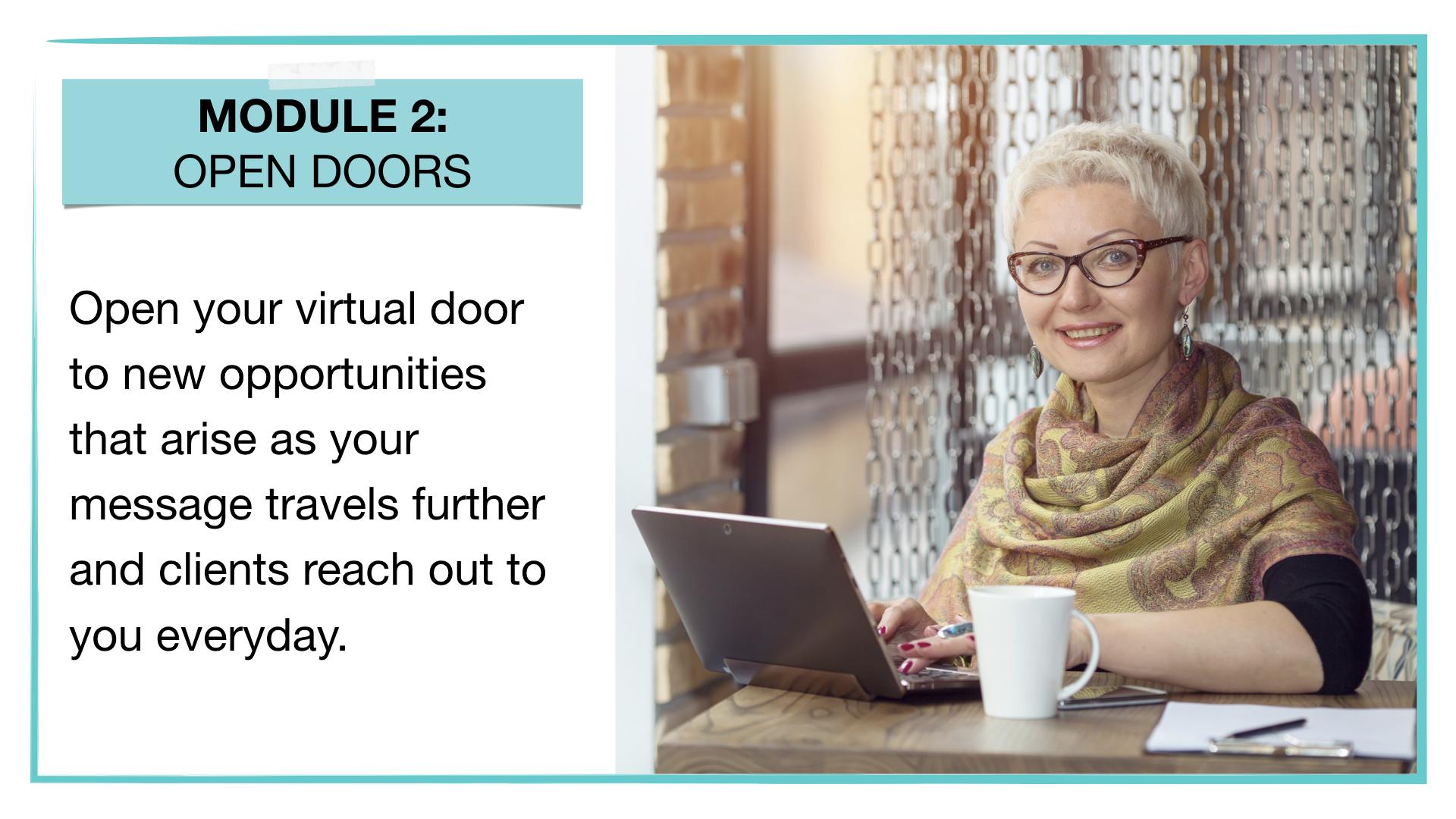 MMM Module 2: Open Doors