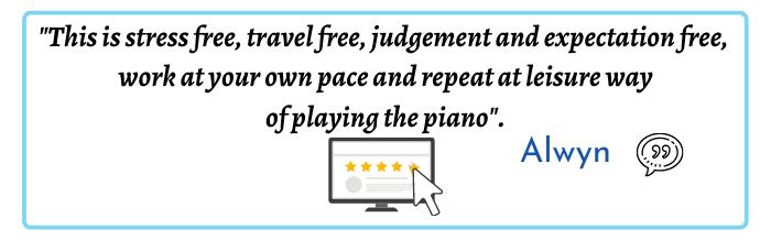 Mark Deeks Piano Startup Academy Online piano lessons Alwyn Testimonial