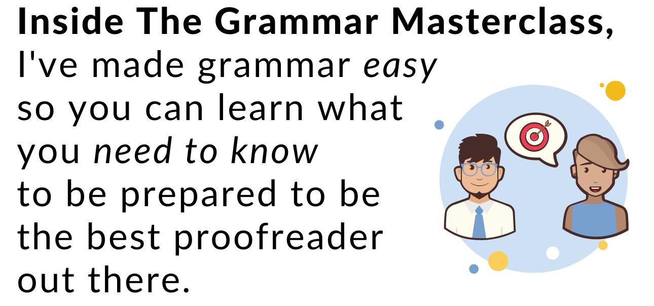 The Grammar Masterclass 2