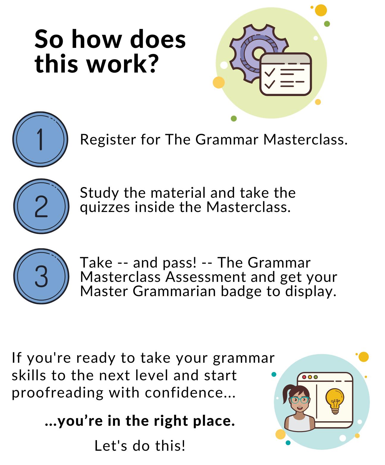 The Grammar Masterclass 6