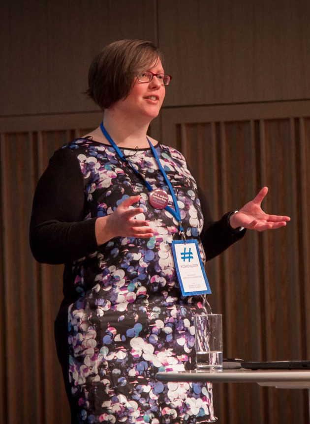Rachel Extance speaking at CSMDay19