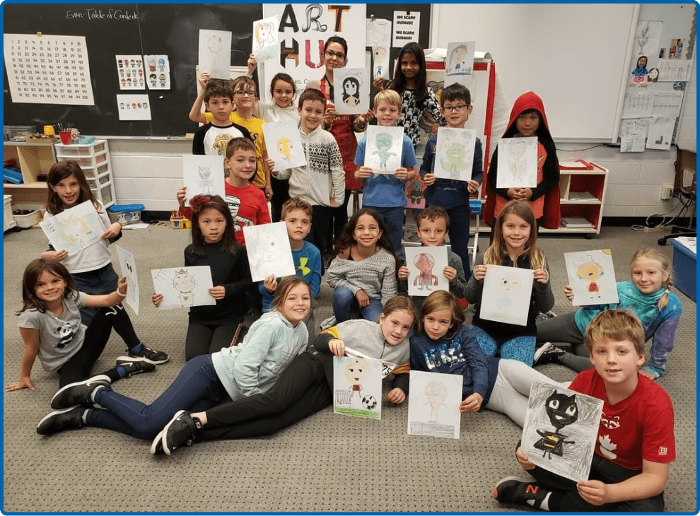 Happy Art Class