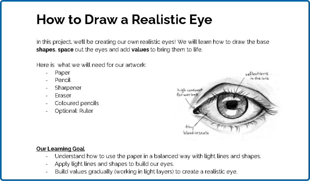 Realistic Eye Assignment